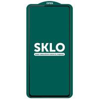 Защитное стекло SKLO 5D (full glue) (тех.пак) для Xiaomi Redmi Note 10 5G / Poco M3 Pro