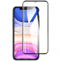 """Защитное стекло XD+ (full glue) (тех.пак) для Apple iPhone 12 Pro / 12 (6.1"""")"""