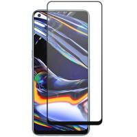 Защитное стекло XD+ (full glue) (тех.пак) для Realme 7 Pro