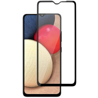 Защитное стекло XD+ (full glue) (тех.пак) для Samsung Galaxy A02s /A02/M02s/M02/A12/M12/A03s