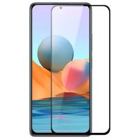 Защитное стекло XD+ (full glue) (тех.пак) для Xiaomi Redmi Note 10 / Note 10 5G/Note 10s/Poco M3 Pro