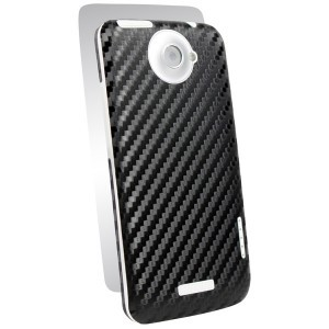Наклейка на весь корпус BodyGuardz Carbon для HTC One X