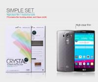 Купить Защитная пленка Nillkin Crystal для LG H815 G4/H818P G4 Dual