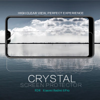 Защитная пленка Nillkin Crystal для Xiaomi Mi A3 Lite