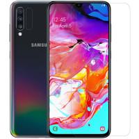 Защитная пленка Nillkin Crystal (+ пленка на зад. камеру) для Samsung Galaxy A70 (A705F)