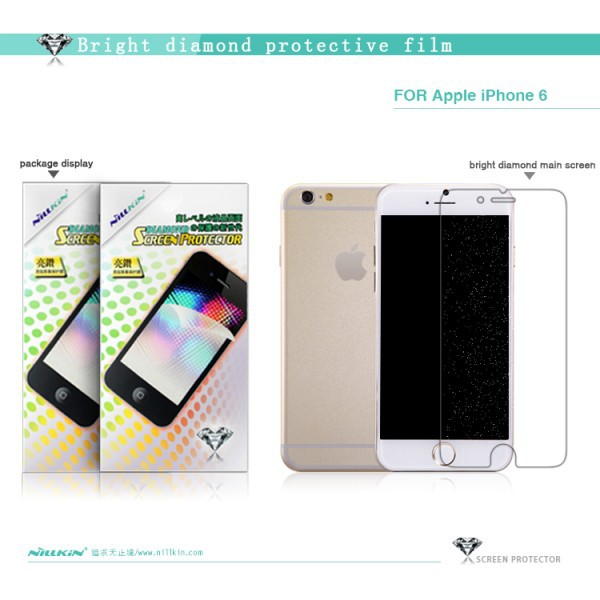 Защитная пленка Nillkin Bright Diamond Series для Apple iPhone 6/6s (4.7