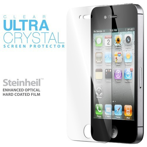 Купить Защитная плёнка SGP Steinheil Series (Ultra Crystal) для Apple Iphone 3G/S за 109 грн