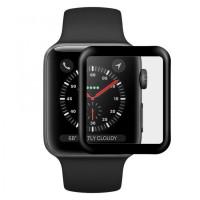 Защитное 3D стекло Blueo High Molecule (full glue) для Apple watch 44mm