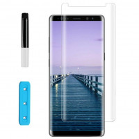 Защитное 3D стекло Nano Optics с УФ лампой для Samsung Galaxy Note 9 / Note 8