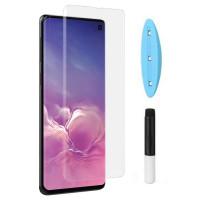 Защитное 3D стекло UV для Samsung Galaxy S10