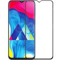 Защитное цветное 3D 9H стекло Mocolo (full glue) для Samsung Galaxy A70 (A705F)