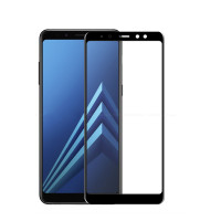 Захисне кольорове 3D скло Mocolo для Samsung Galaxy A8 (2018) (A530)