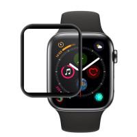 Защитное цветное 3D стекло Mocolo (full glue) для Apple Watch (38mm)