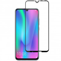 Захисне кольорове скло Mocolo (full glue) на весь екран для Huawei Honor 10 Lite