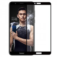 Защитное цветное стекло Mocolo (full glue) на весь экран для Huawei Honor 7X