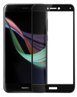Захисне кольорове скло Mocolo (full glue) на весь екран для Huawei P8 Lite (2017)
