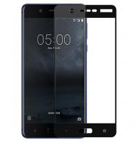 Защитное цветное стекло Mocolo (full glue) на весь экран для Nokia 5