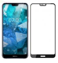 Захисне кольорове скло Mocolo (full glue) на весь екран для Nokia 7 plus