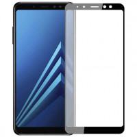 Захисне кольорове скло Mocolo (full glue) на весь екран для Samsung Galaxy A8+ (2018) (A730)