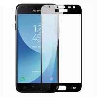 Захисне кольорове скло Mocolo (full glue) на весь екран для Samsung Galaxy J2 Core (2018)