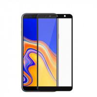 Захисне кольорове скло Mocolo (full glue) на весь екран для Samsung Galaxy J4+ (2018)