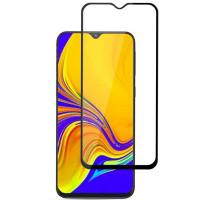 Захисне кольорове скло Mocolo (full glue) на весь екран для Samsung Galaxy M10