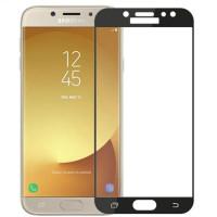Захисне кольорове скло Mocolo (full glue) на весь екран для Samsung Galaxy J3 (2017) (J330)