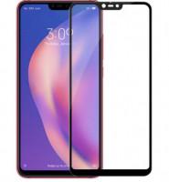 Захисне кольорове скло Mocolo (full glue) на весь екран для Xiaomi Mi 8 Lite / Mi 8 Youth (Mi 8X)