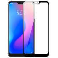 Защитное цветное стекло Mocolo (full glue) на весь экран для Xiaomi Mi A3 Lite