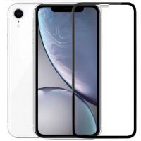 Защитное цветное стекло Mocoson 5D (full glue) на весь экран для Apple iPhone XR / 11