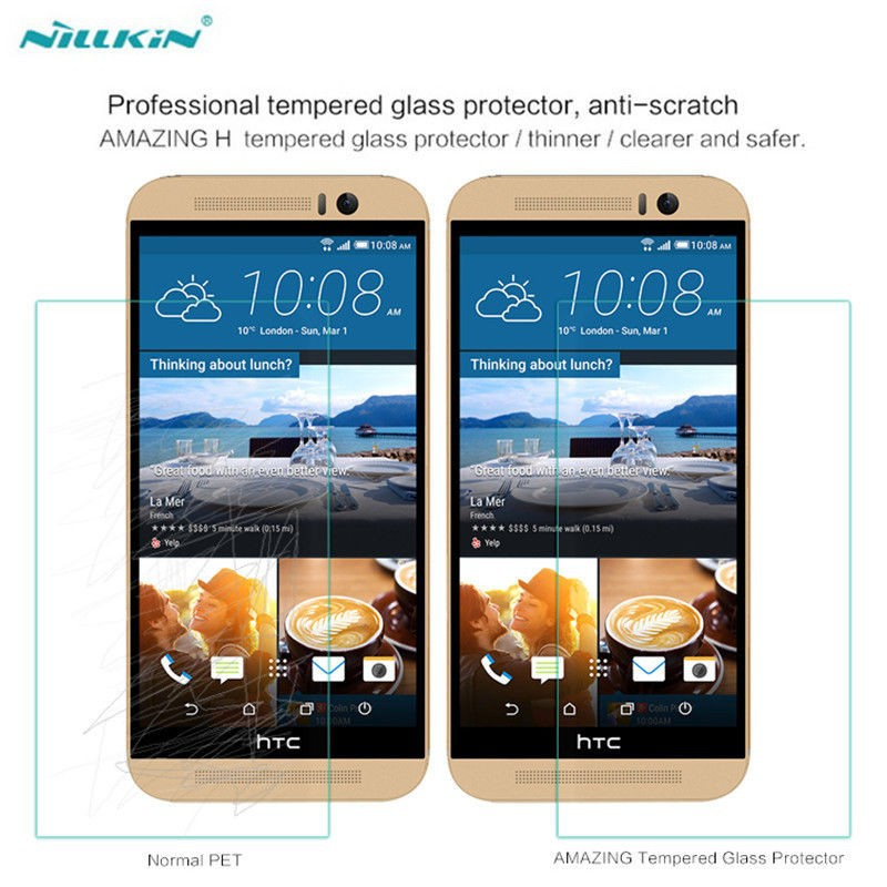 Фото Защитное стекло Nillkin Anti-Explosion Glass Screen (H) для HTC One / M9 на itsell.ua