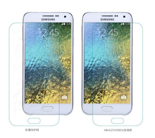 Фото Защитное стекло Nillkin Anti-Explosion Glass Screen (H) для Samsung E500H/DS Galaxy E5 в магазине itsell.ua