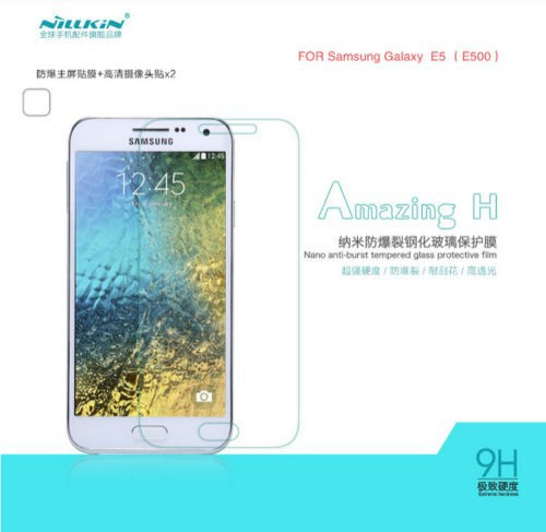 Купить Защитное стекло Nillkin Anti-Explosion Glass Screen (H) для Samsung E500H/DS Galaxy E5 за 199 грн