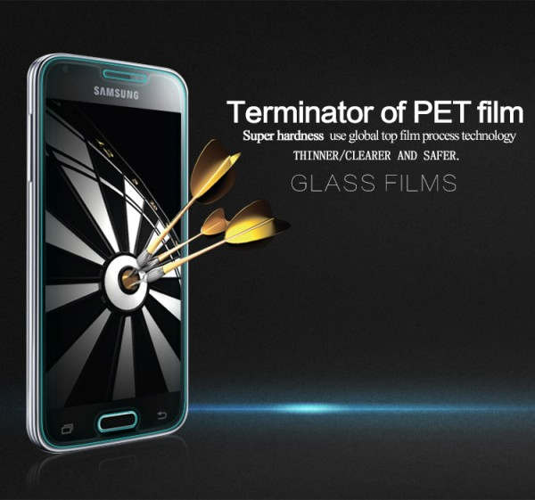 Защитное стекло Nillkin Anti-Explosion Glass Screen (H) для Samsung G800H Galaxy S5 mini в магазине itsell.ua