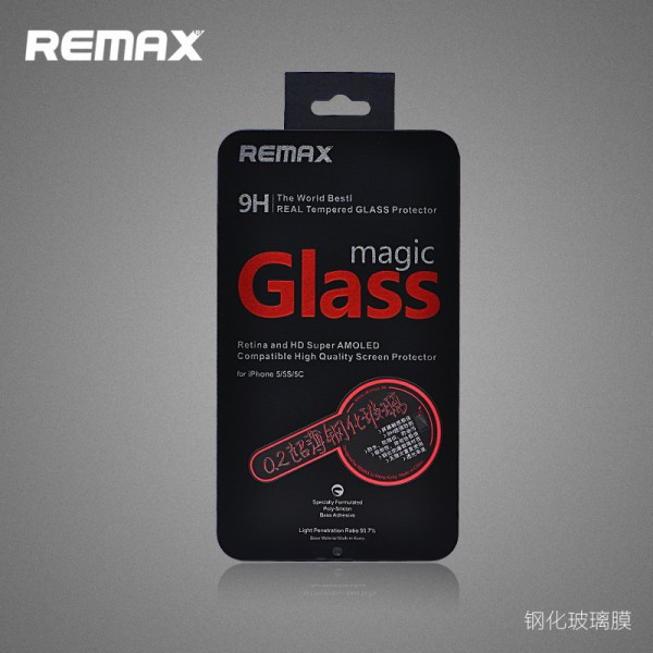 Фото Защитное стекло Remax Tempered Glass Series для Apple iPhone 5/5S/5C на itsell.ua