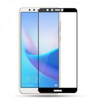 Захисне скло 2.5D CP+ (full glue) для Huawei Y9 (2018)