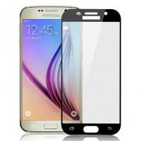 Захисне скло 2.5D CP+ (full glue) для Samsung Galaxy A7 (2017) (A720)