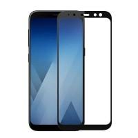Захисне скло 2.5D CP+ (full glue) для Samsung Galaxy A8+ (2018) (A730)