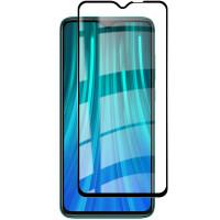 Защитное стекло 19D (full glue) (тех.пак.) для Xiaomi Redmi Note 8 Pro