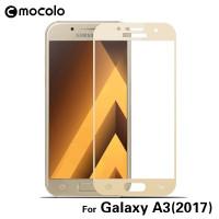 Захисне кольорове 3D скло Mocolo для Samsung Galaxy A3 (2017) (A320)