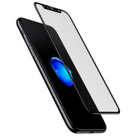 Защитное стекло Baseus 0.3mm Silk-screen 2.5D Tempered Glass для Apple iPhone X (5.8