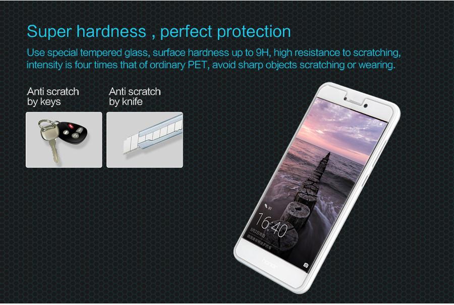 Закаленное стекло Huawei Honor 6x DF Fullscreen hwColor-06 White