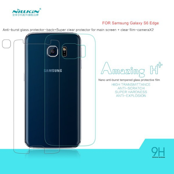 Защитное стекло Nillkin Anti-Explosion Glass (H+) (закр. края) для Samsung Galaxy S6 Edge+пленка
