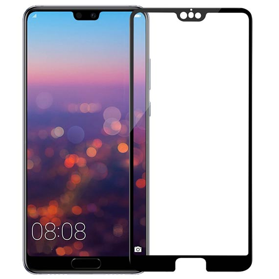 Захисне скло Nillkin Anti-Explosion Glass Screen (CP+ max 3D) для Huawei P20 Pro