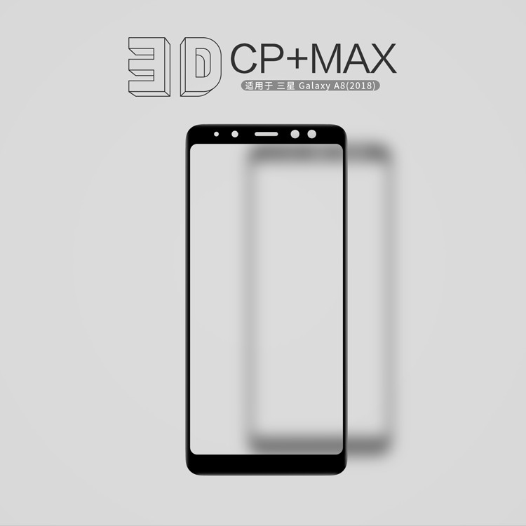 Купить Защитное стекло Nillkin Anti-Explosion Glass Screen (CP+ max 3D) для Samsung Galaxy A8 (2018) (A530) за 399 грн