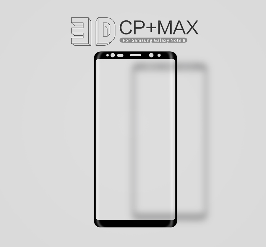 Захисне скло Nillkin Anti-Explosion Glass Screen (CP+ max 3D) для Samsung Galaxy Note 8