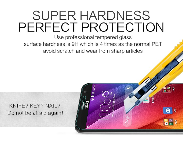 Защитное стекло Nillkin Anti-Explosion Glass Screen (H) для Asus Zenfone 2 (ZE500CL) на itsell.ua