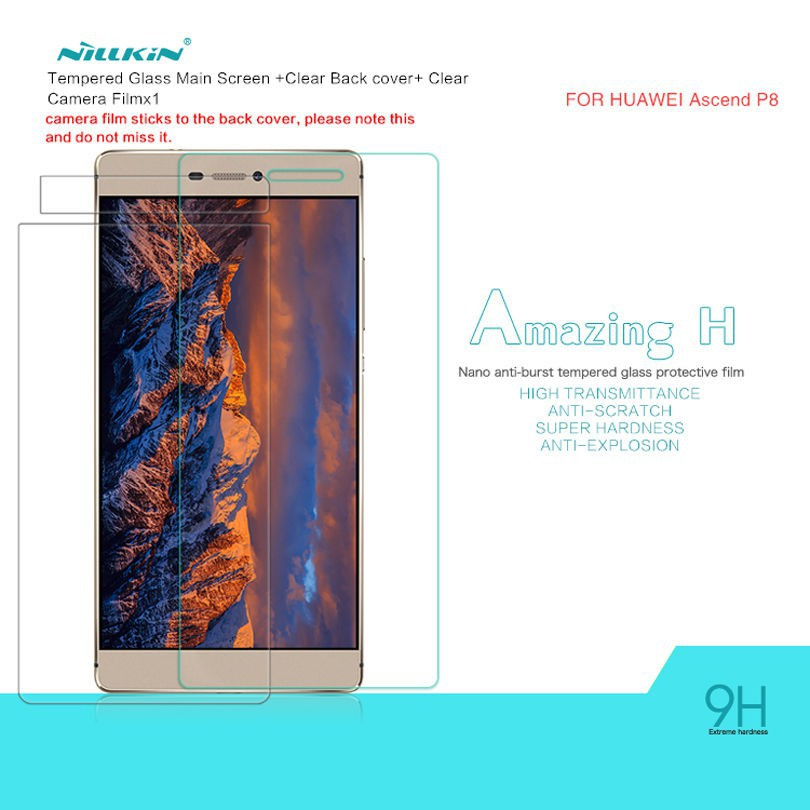 Защитное стекло Nillkin Anti-Explosion Glass Screen (H) для Huawei P8