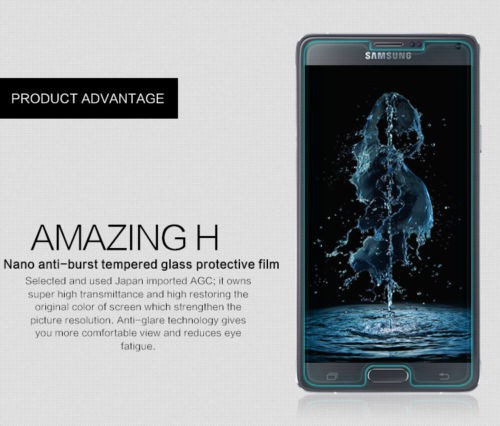 Фото Защитное стекло Nillkin Anti-Explosion Glass Screen (H) для Samsung N910H Galaxy Note 4 в магазине itsell.ua
