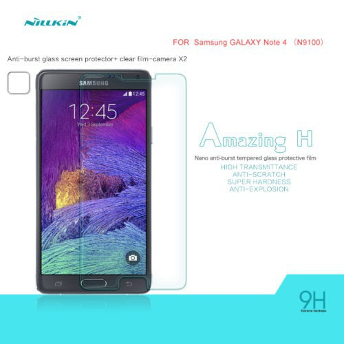 Купить Защитное стекло Nillkin Anti-Explosion Glass Screen (H) для Samsung N910H Galaxy Note 4 за 259 грн